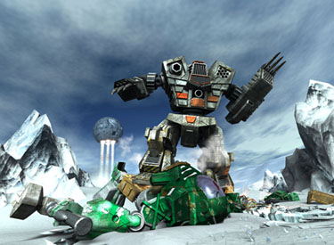 MechWarrior Ice Fight