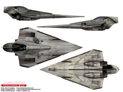 Episode II Jedi starfighter